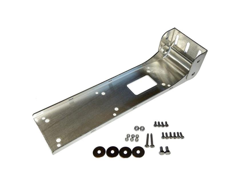 lowrance stainless transom bracket  totalscan transducer mounts brackets bottom