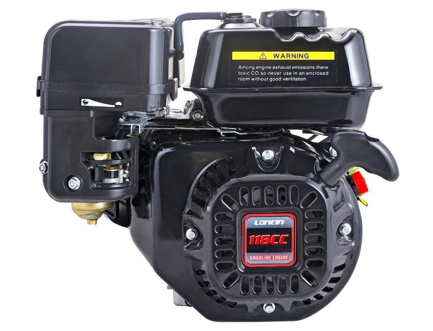Loncin G120F-M 4Hp Engine - Replaces Honda GX120 - for Wacker Plate / water  pump