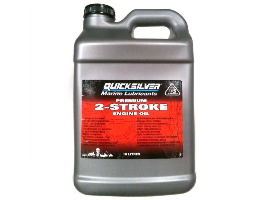 Quicksilver Premium 2-Cycle Outboard motor oil - 10L - 2 stroke -  92-858023QB1