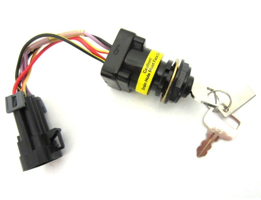 dts ignition key switch mercury mariner outboard. Black Bedroom Furniture Sets. Home Design Ideas