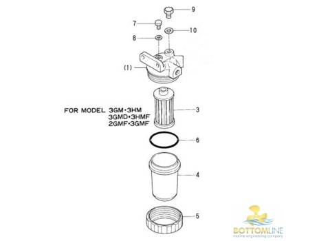 9 Mercury Outboard Fuel Filter also Yanmar Wiring Diagrams as well Yanmar Wiring Schematic furthermore Drawings additionally Bg Fuel Filter. on yanmar marine parts diagram