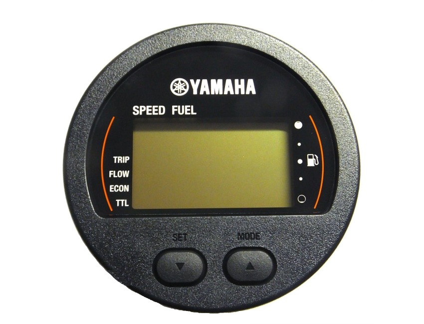 Yamaha Marine - Digital Network Gauge - Round Multi Function - Outboard