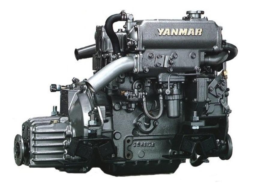 Yanmar Tractor Cooling System Parts : Genuine yanmar sea water pump gm f series