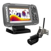 LOWRANCE HOOK²-4x GPS Bullet Fishfinder with Skimmer Transducer Hook2 - 000-14015-001