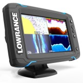 Lowrance Elite 7Ti Chartplotter / Fishfinder c/w Totalscan transducer & UK Chart